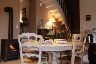 la salle du petit déjeuner du Domaine Delabaude