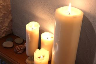 les bougies du spa